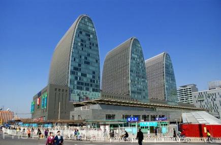 La conception fran aise un r le important dans l for Architecture chinoise