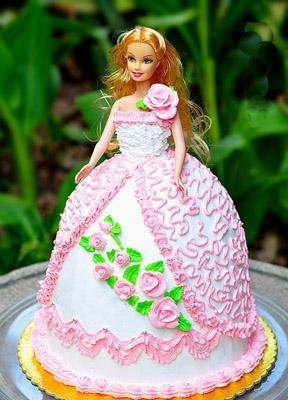 Gateau barbie chocolat